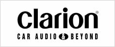Clarion car audio & beyond logo