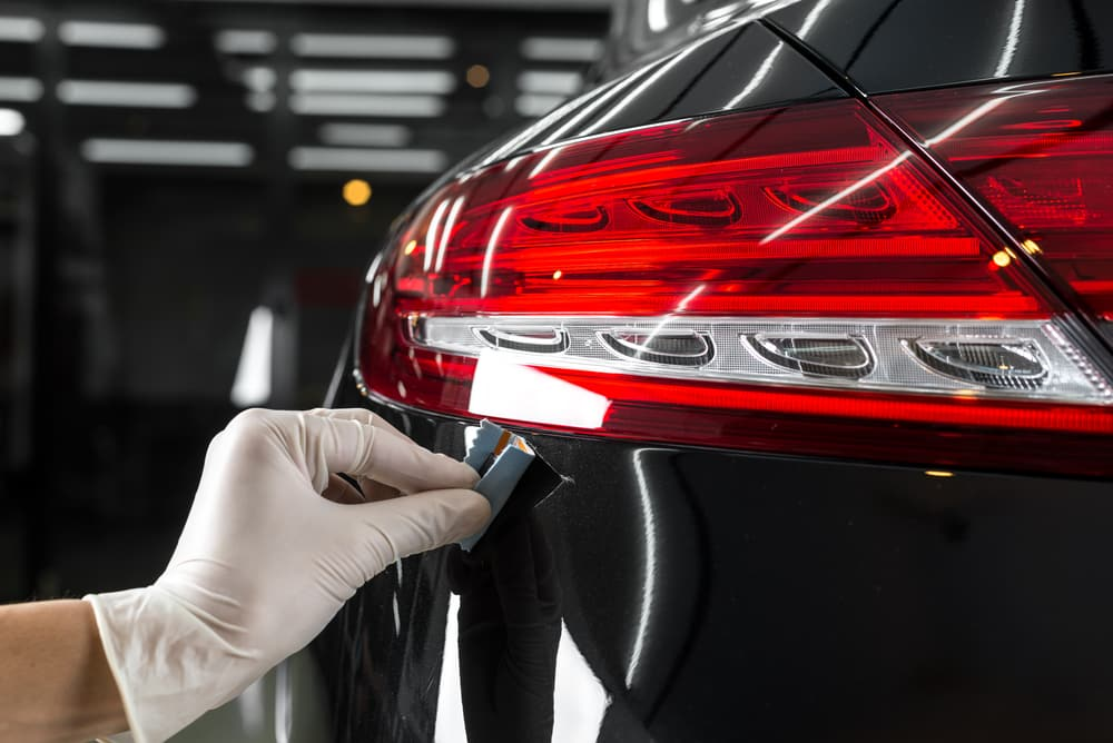 applying car paint protection