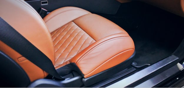 seat covers in car